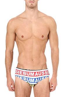AUSSIEBUM Lowrider brand swim trunks