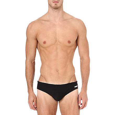 AUSSIEBUM Swish plain swim trunks (Black