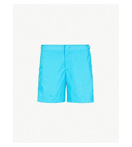 ORLEBAR BROWN Bulldog relaxed-fit swim shorts (Bright blue