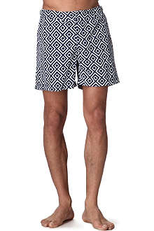 ORLEBAR BROWN Diamond print swim shorts