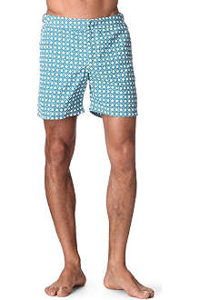 ORLEBAR BROWN Bulldog wicker-print swim shorts