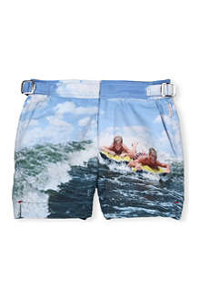 ORLEBAR BROWN Surfing print swim shorts 4-8 years