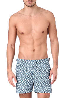 ORLEBAR BROWN Setter tread print swim shorts