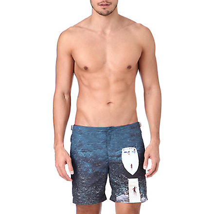 ORLEBAR BROWN H Getty Jetty swim shorts (Navy