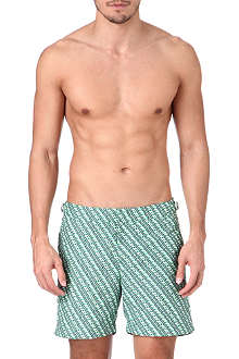 ORLEBAR BROWN Bulldog Tread print swim shorts
