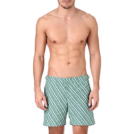 ORLEBAR BROWN Bulldog Tread print swim shorts (Amazon