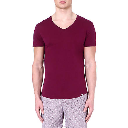 ORLEBAR BROWN Bobby v-neck t-shirt (Magenta