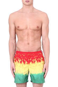 ORLEBAR BROWN Bulldog Birds of Paradise swim shorts