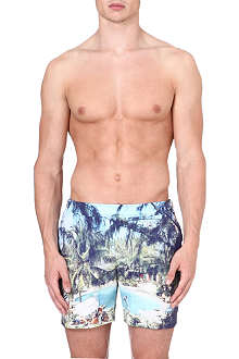 ORLEBAR BROWN Bulldog Pine Coolada swim shorts