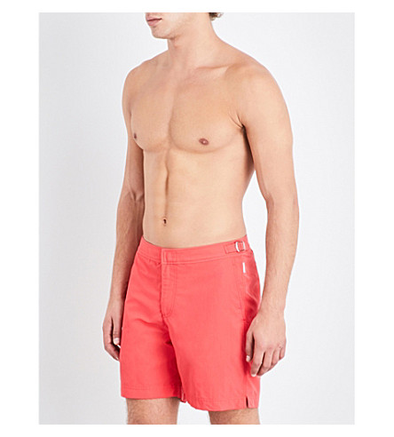 ORLEBAR BROWN Bulldog swim shorts (Raspberry