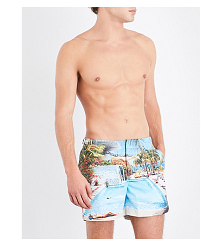 ORLEBAR BROWN Setter photographic-print swim shorts (Las hadas