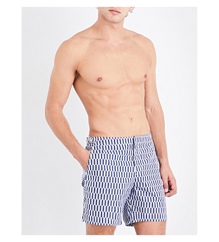 ORLEBAR BROWN Bulldog structured swim shorts (Navy