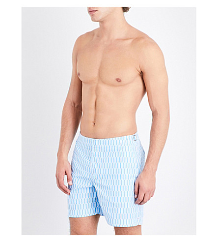 ORLEBAR BROWN Bulldog structured swim shorts (Riviera