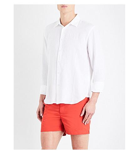 ORLEBAR BROWN Meden classic-fit linen shirt (White