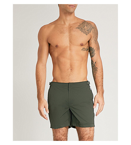 ORLEBAR BROWN Bulldog regular-fit swim shorts (Khaki