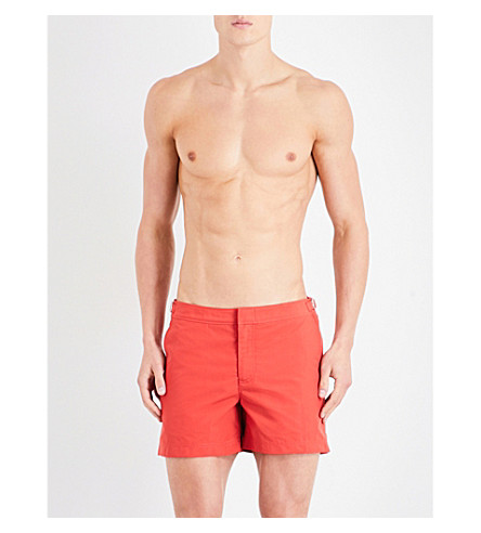 ORLEBAR BROWN Setter swim shorts (Burnt+orange