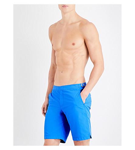 ORLEBAR BROWN Dane swim shorts (Mid+blue
