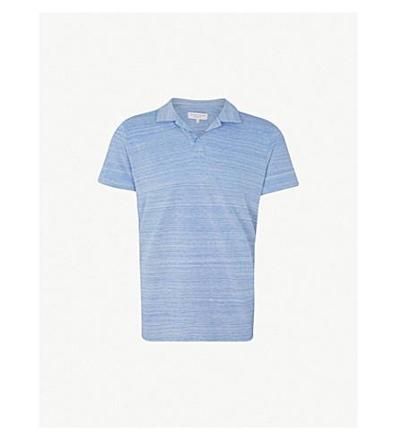 c0940641 ORLEBAR BROWN - Felix striped cotton polo shirt | Selfridges.com