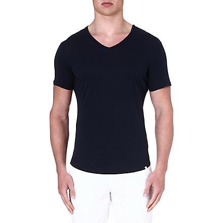 ORLEBAR BROWN Bobby v-neck t-shirt (Navy