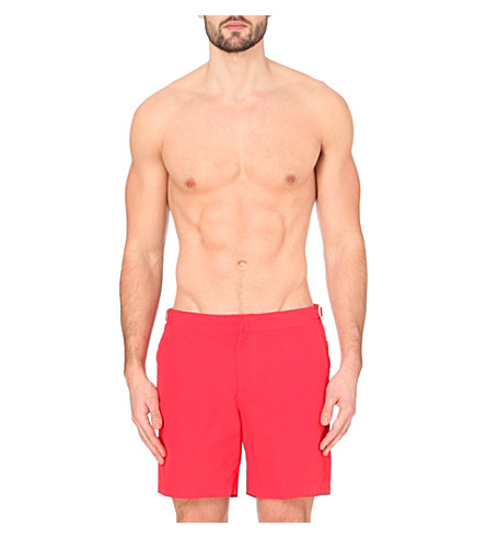 ORLEBAR BROWN Bulldog swim shorts (Red