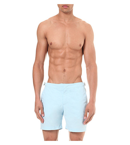 ORLEBAR BROWN Bulldog swim shorts (Sky