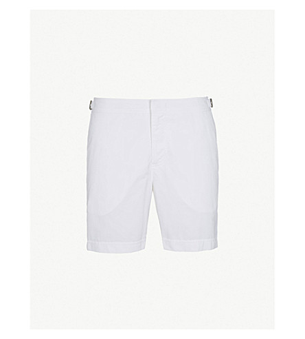 ORLEBAR BROWN Bulldog regular-fit swim shorts (White+1