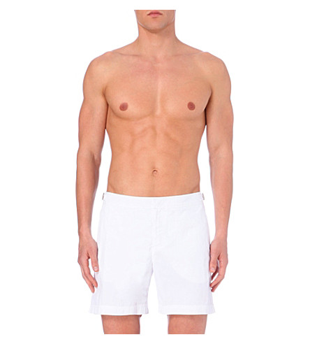 ORLEBAR BROWN Bulldog swim shorts (White+1
