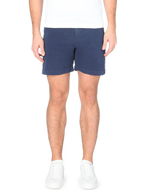 ORLEBAR BROWN Cavrin linen and cotton-blend shorts