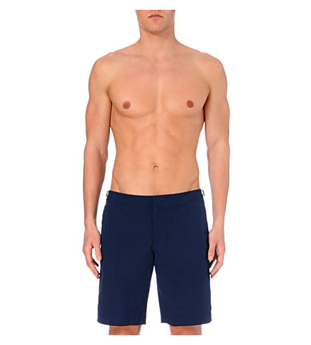 ORLEBAR BROWN Dane ii plain swim shorts (Navy