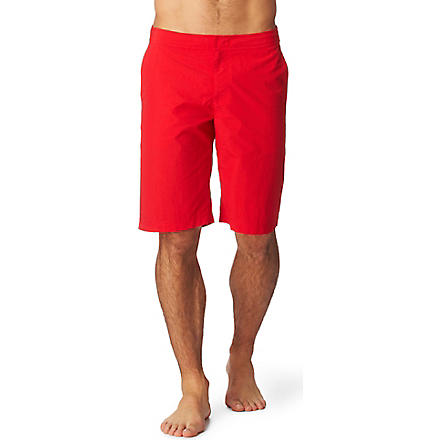 ORLEBAR BROWN Dane long swim shorts (Red
