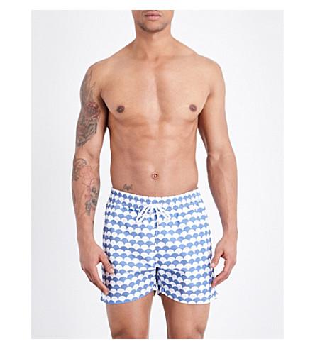 FRESCOBOL CARIOCA Noronha swim shorts (Slate+blue