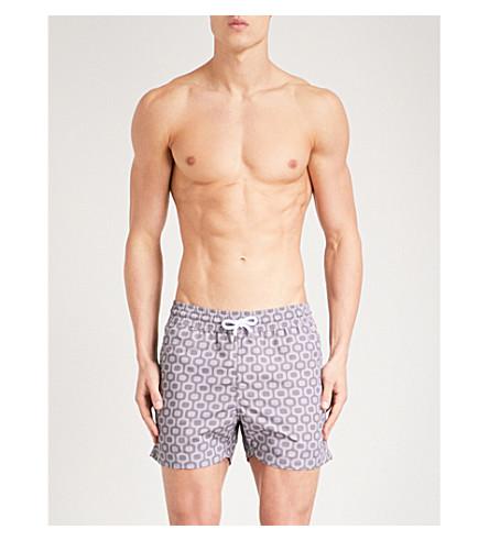 FRESCOBOL CARIOCA Ipanema shell sport shorts (Charcoal