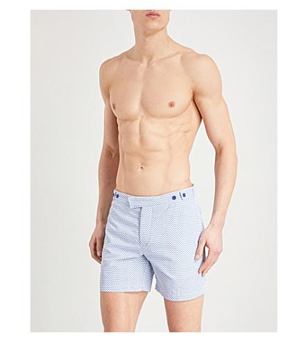 FRESCOBOL CARIOCA Copacabana swim shorts (Slate