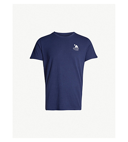 FRESCOBOL CARIOCA Carioca surf cotton-jersey t-shirt (Navy
