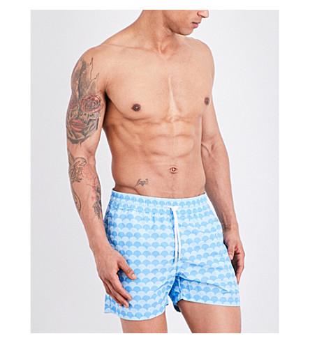 FRESCOBOL CARIOCA Noronha swim shorts (Blue+sky