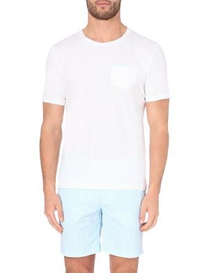FRESCOBOL CARIOCA Crew-neck cotton t-shirt