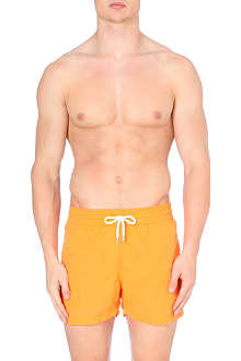 FRESCOBOL CARIOCA Plain drawstring swim shorts