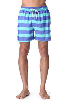OILER & BOILER Classic Tuckernuck striped swim shorts