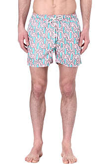 OILER & BOILER Tuckernuck Classic Europe Cool Mint swim shorts
