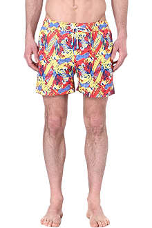 OILER & BOILER Tuckernuck Classic South America Tropical Heat swim shorts