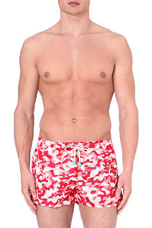 OILER & BOILER Tuckernuck Shortie Amazon swim shorts