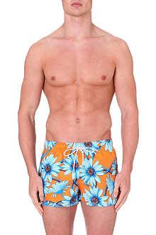 OILER & BOILER Malibu floral-print swimming shorts