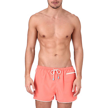 OILER & BOILER East Hampton swim shorts (Camellia