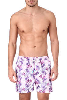 OILER & BOILER Tuckernuck Hawaiian swim shorts