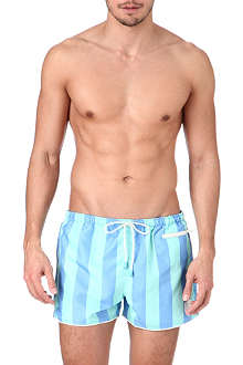 OILER & BOILER East Hampton striped swim shorts