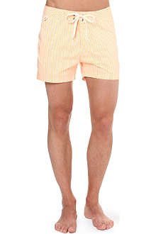 SUNDEK Candy stripe swim shorts