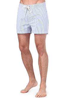 SUNDEK Candy-stripe swim shorts