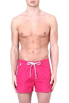 SUNDEK Fixed waistband swim shorts