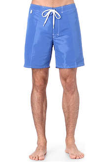 SUNDEK Fixed-waist swim shorts