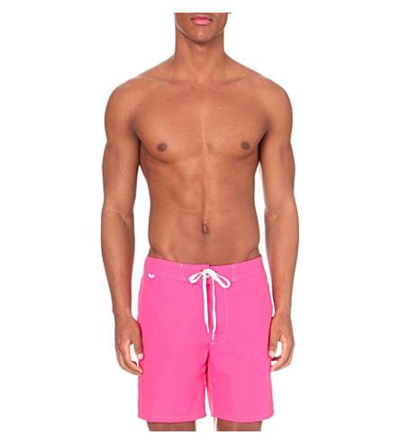 SUNDEK Tie-front swim shorts (New+orchid